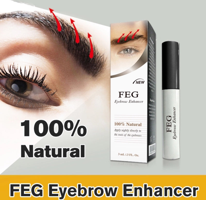 FEG 3ml Eyebrow Enhancer Growth Serum 100% Natural Liquid Oil