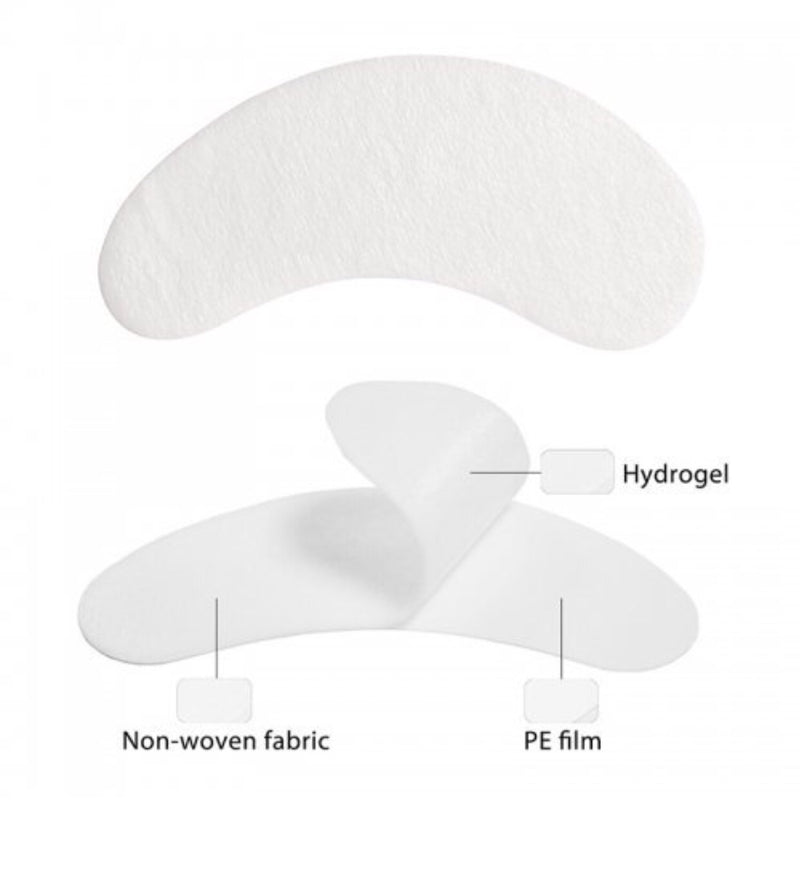 Eyelash Extensions Pads Under EyeLash Gel Lint Free Eye Patches Pad