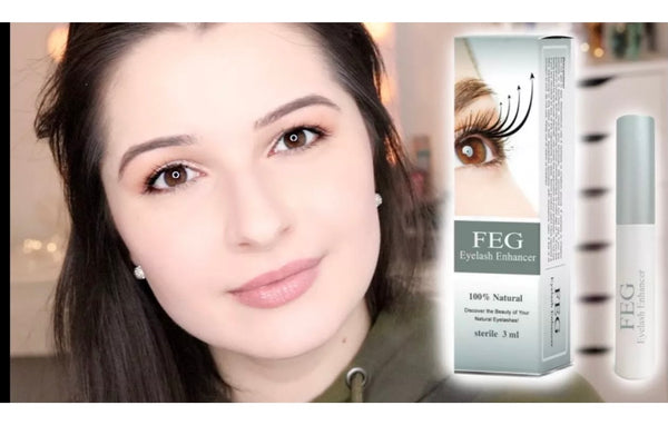 FEG Original Rapid Growth Serum 3ml EyeLash Enhancer Brush Liquid EyeLash Oil