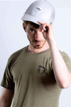 Mens Urban Long Line T-Shirt (Olive)