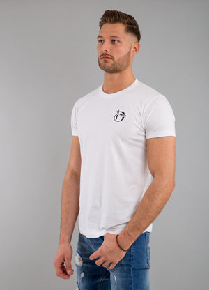 Identity Fitted T-Shirt (White) - Identity Apparel Clothing
