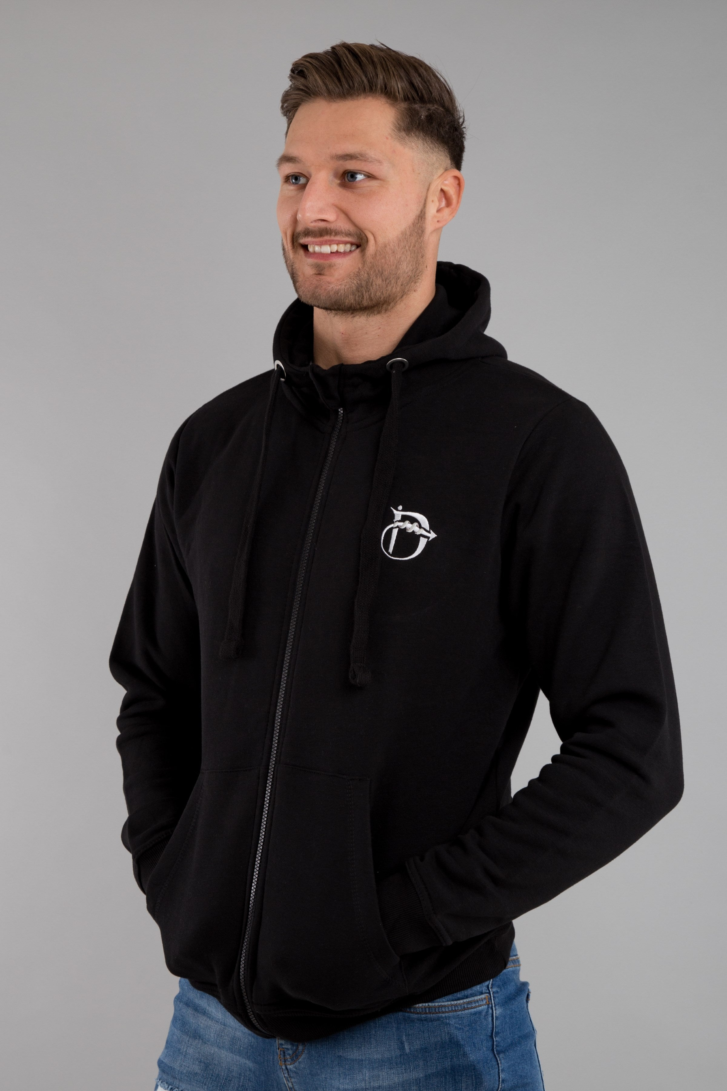 Identity Urban Heavyweight Hoodie (Black) - Identity Apparel Clothing