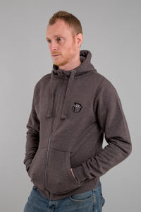 Identity Urban Heavyweight Hoodie (Charcoal) - Identity Apparel Clothing