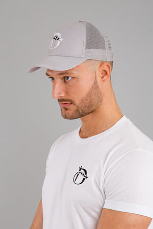 Identity Urban Trucker Cap (Light Grey) - Identity Apparel Clothing