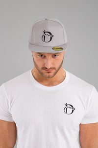 Identity Original Snapback Cap (Grey) - Identity Apparel Clothing