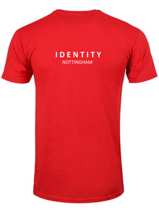 Mens Statement Nottingham T-Shirt (Red & White)