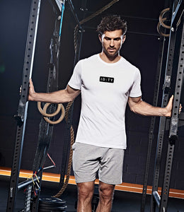 Mens IDTY Fitness T-Shirt (White)
