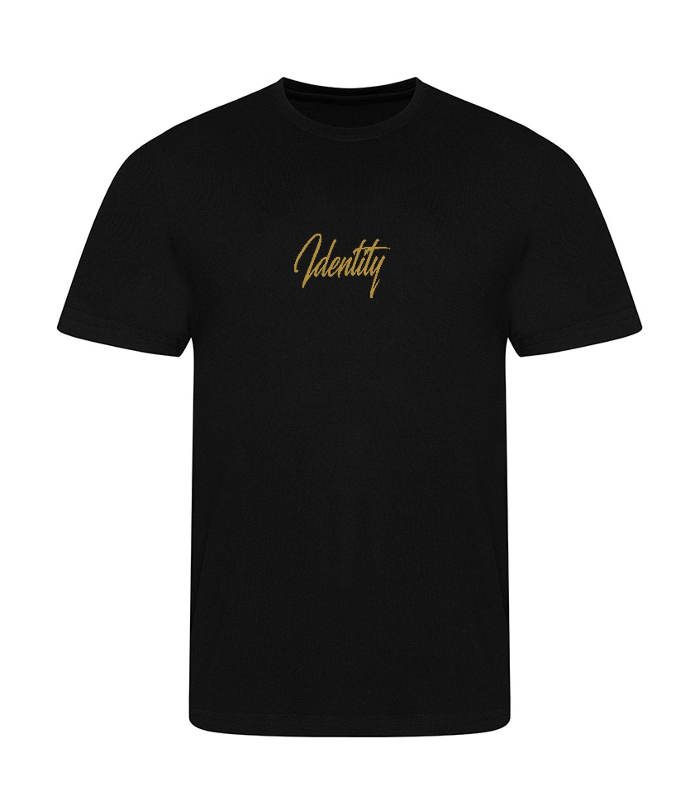 Mens NEW Signature T-Shirt (Black & Gold)