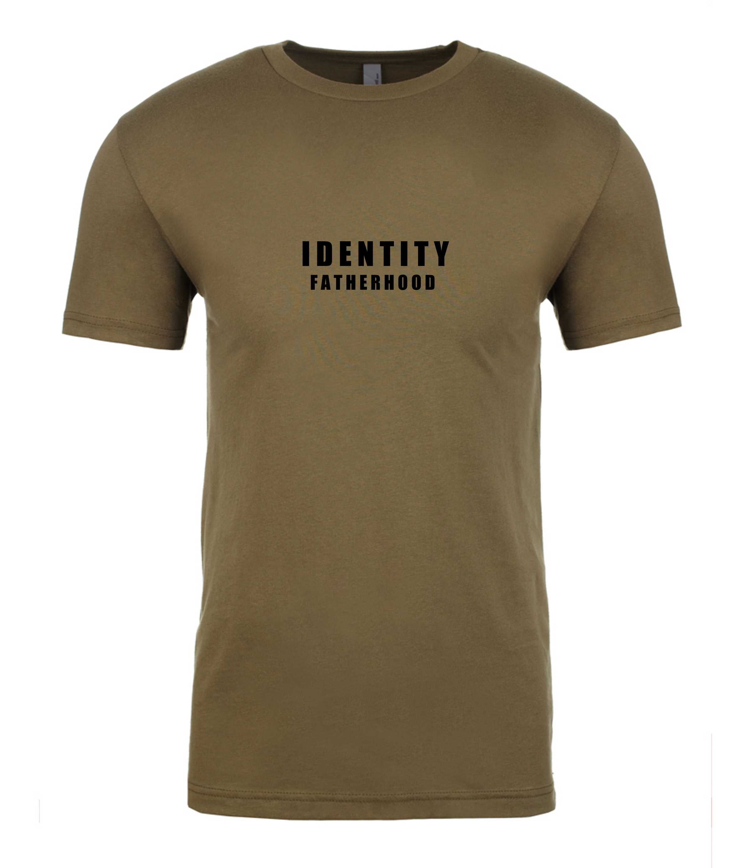 Mens Statement Fatherhood T-Shirt (3 Colour Options)
