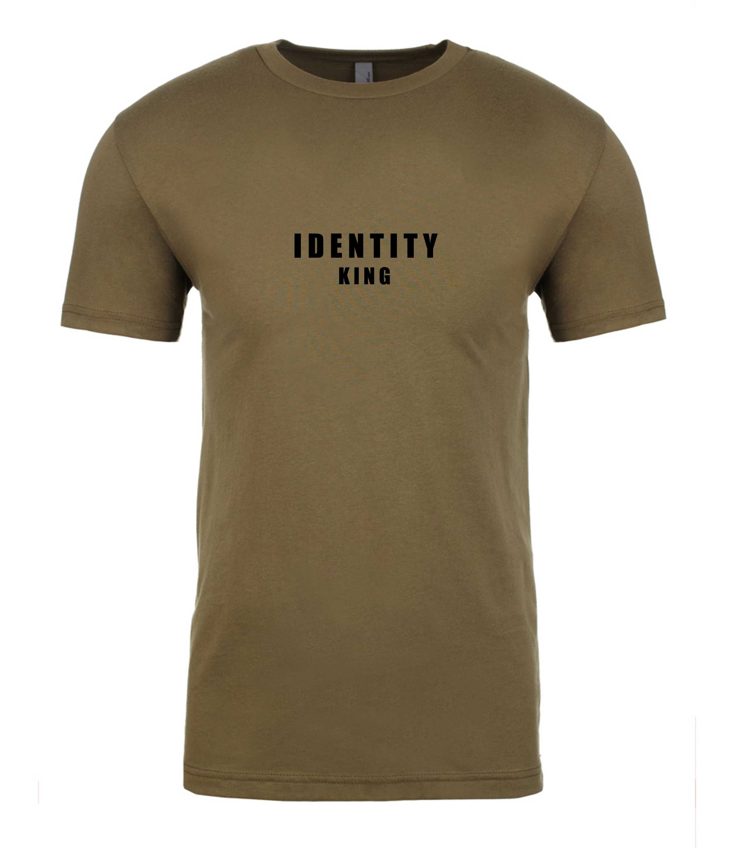 Mens Statement King T-Shirt (4 Colour Options)