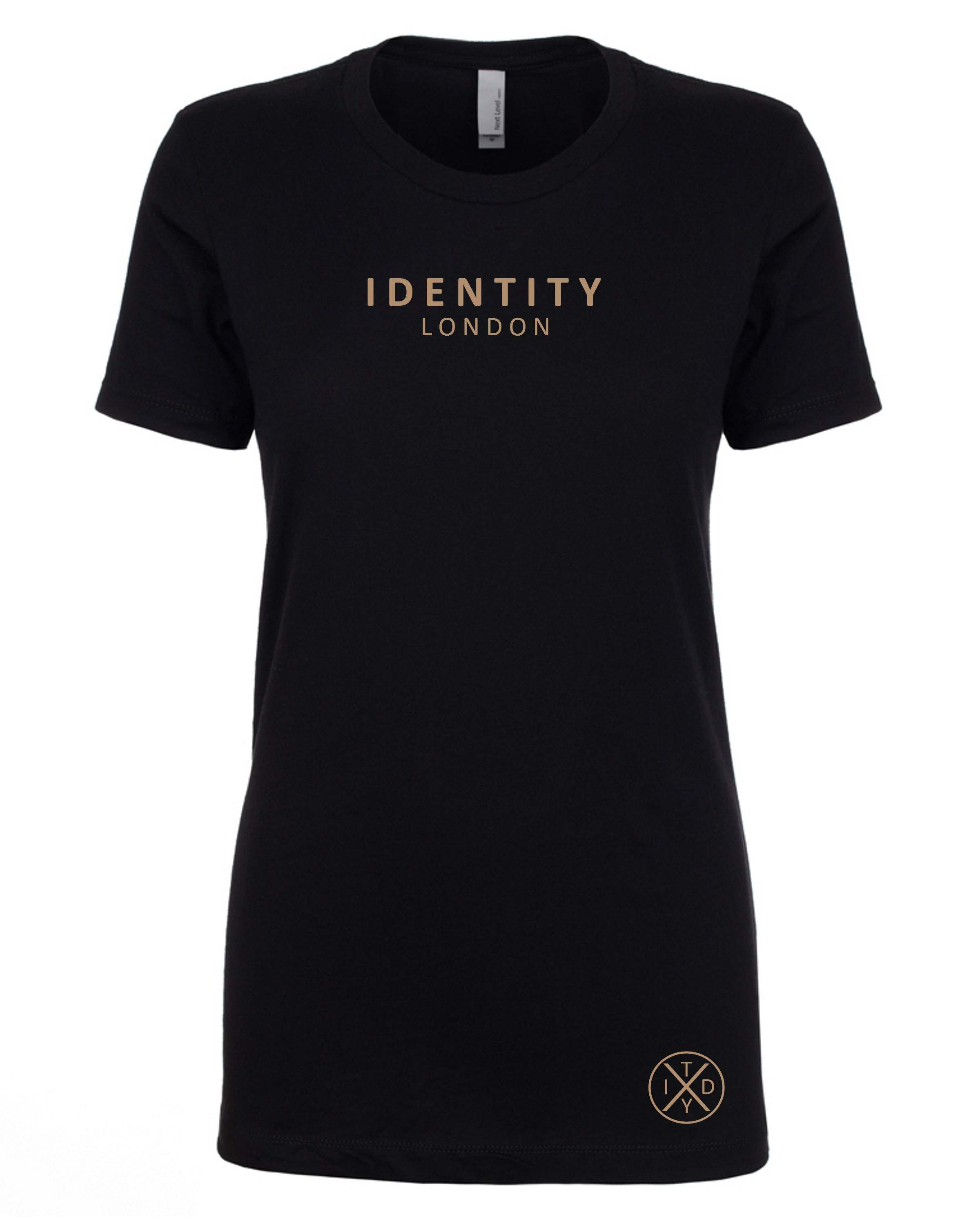 Womens Statement London T-Shirt (Limited Edition Rose Gold)