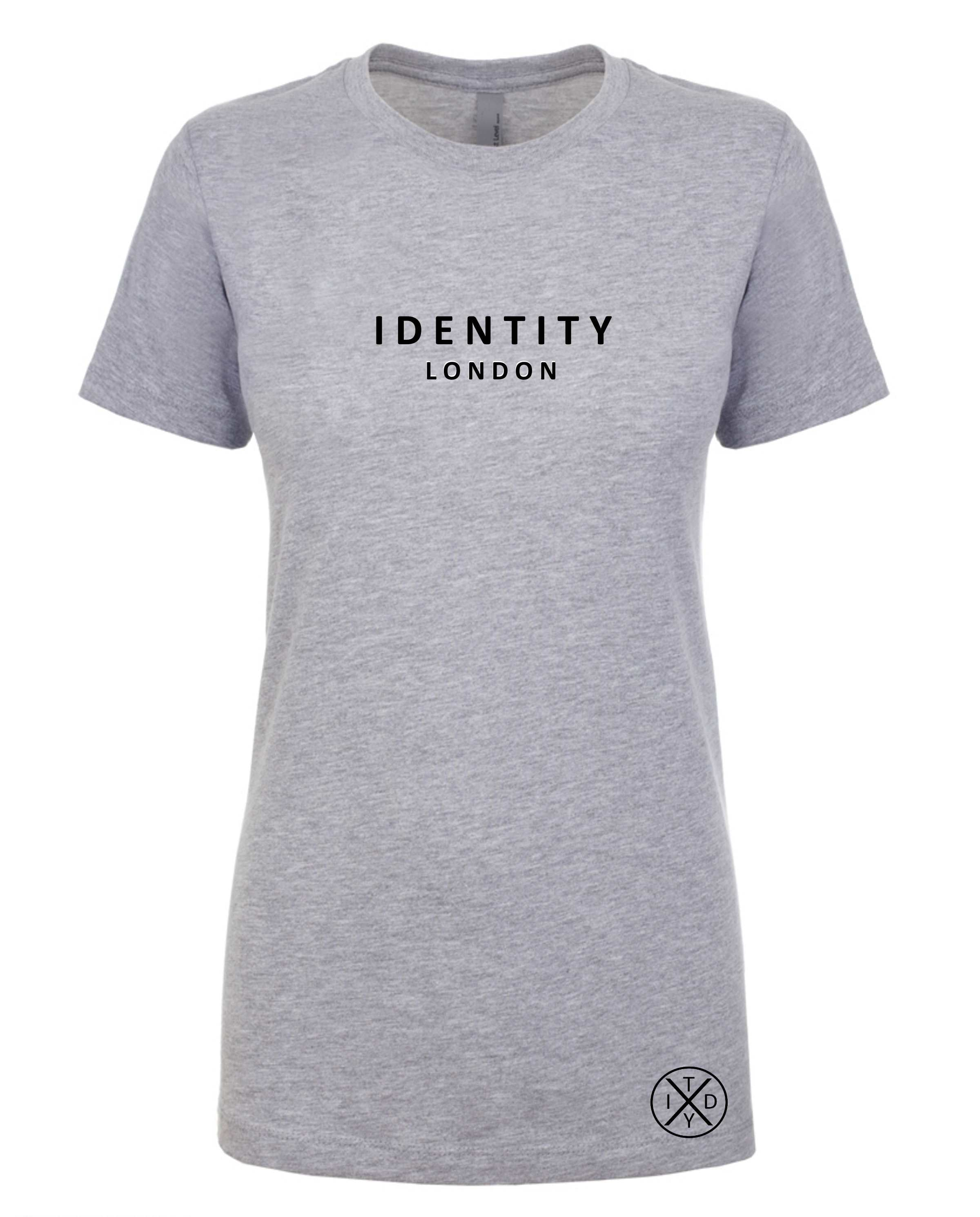 Womens Statement London T-Shirt (Grey)