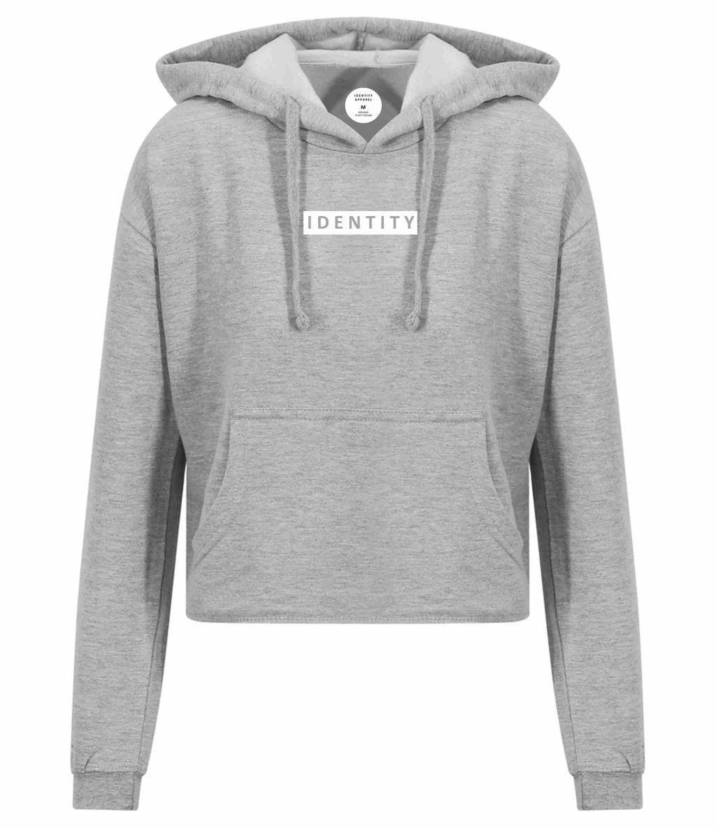 Womens Street Crop Hoodie (2 Colour Options)