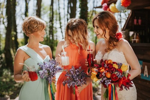 Fiesta Wedding in the Woods