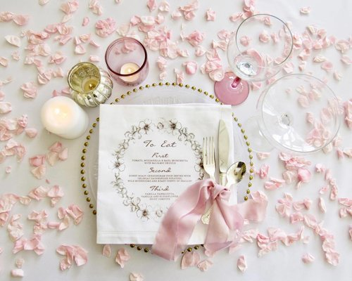 Personalise Your Wedding Menu