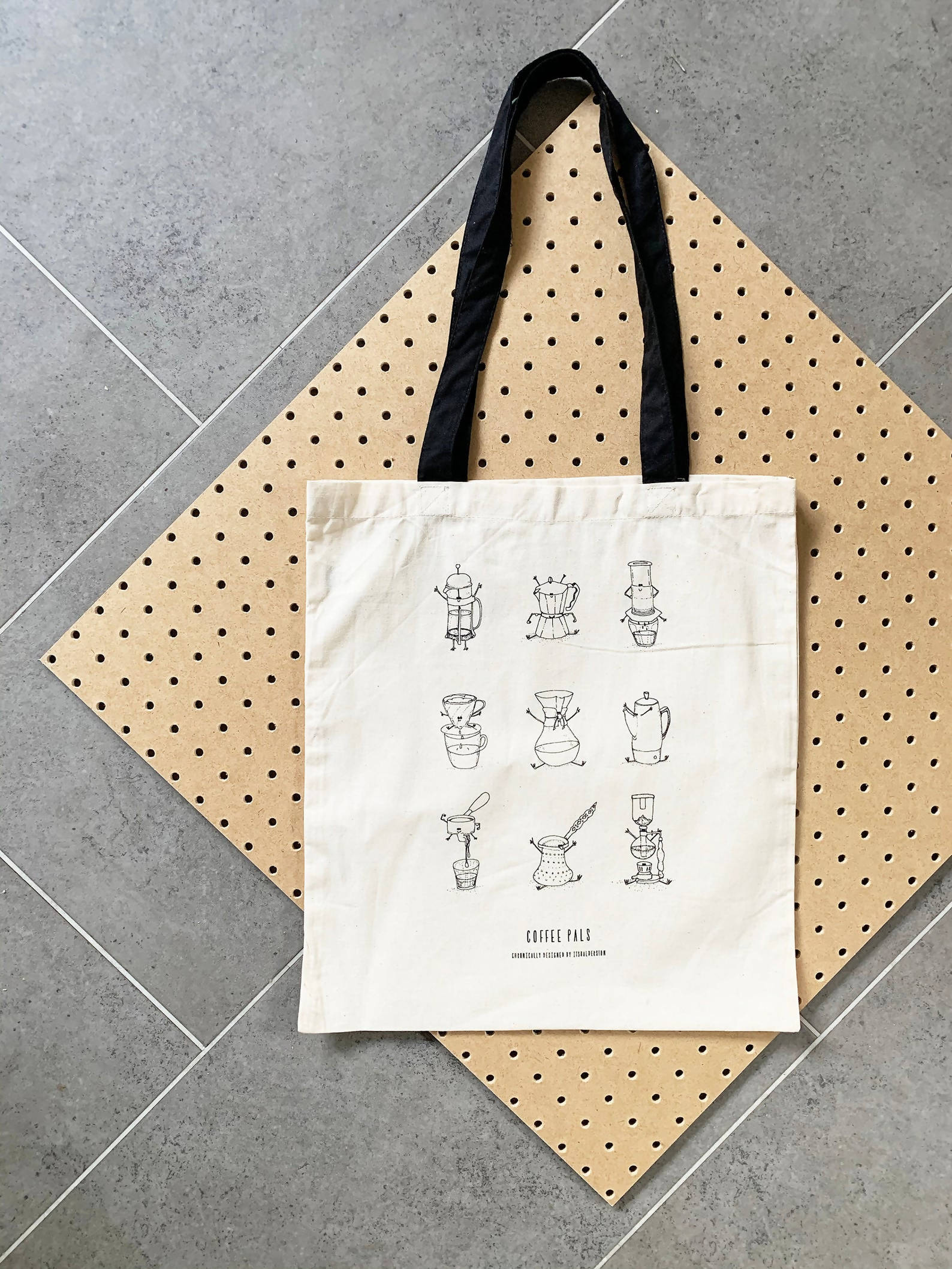 Coffee Pals Tote Bag