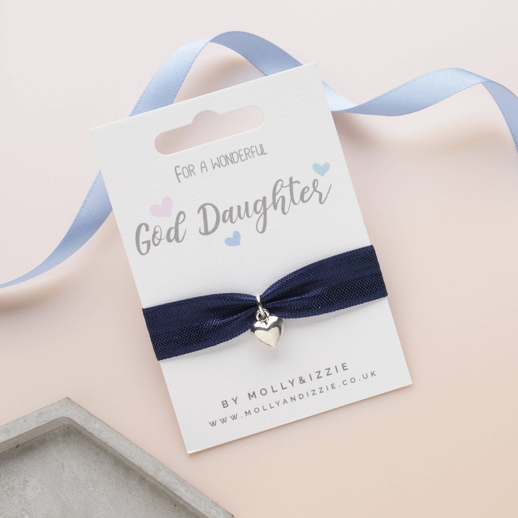 God Daughter Stretch Bracelet