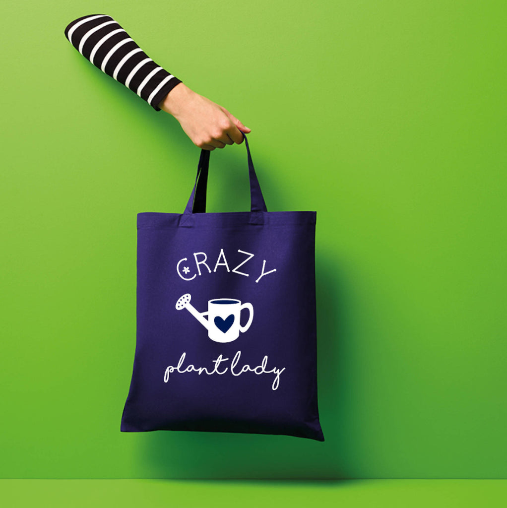 Crazy Plant Lady Tote Bag - Can be Personalised