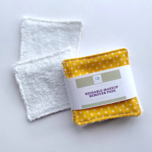 Eco Friendly, reusable makeup remover wipes