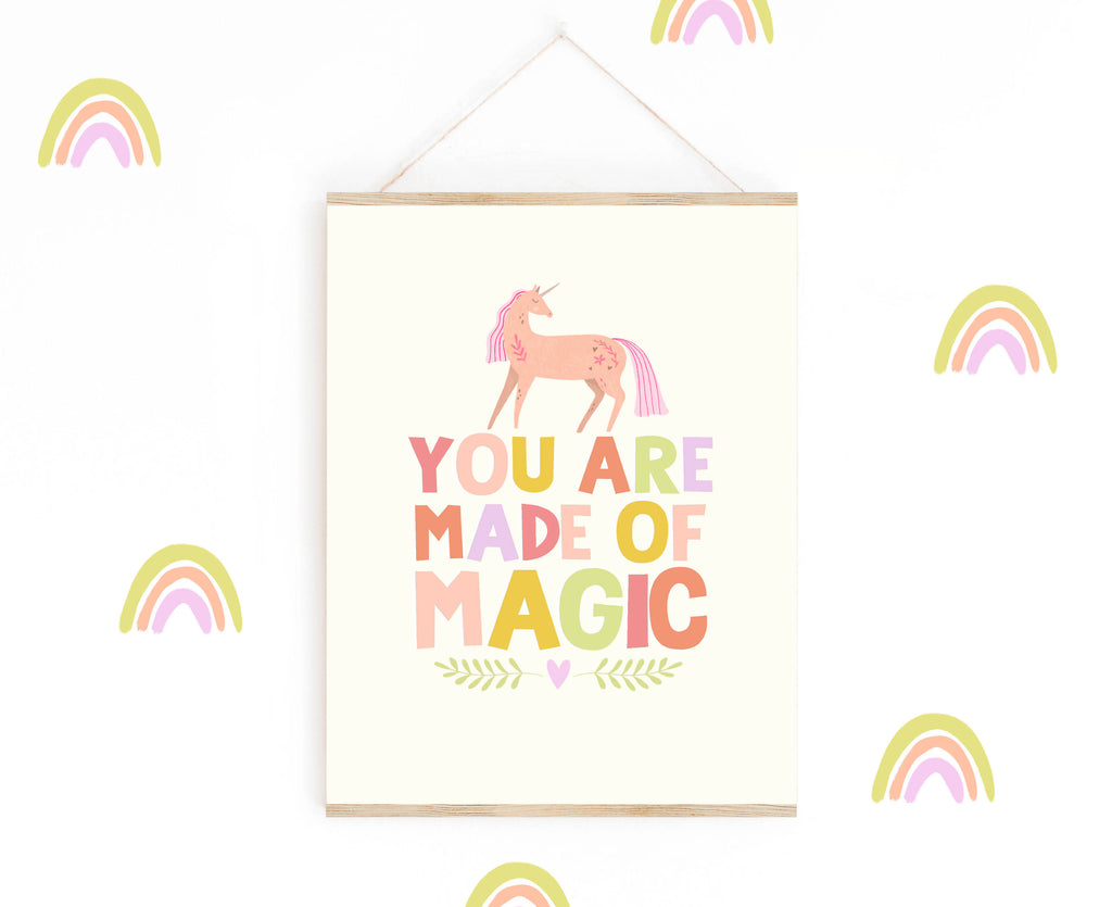 Made of Magic Unicorn Print