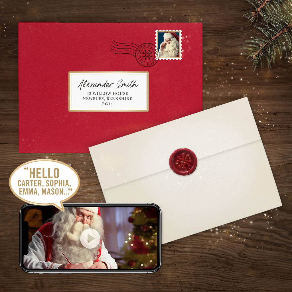 Personalised Letter & Santa Video