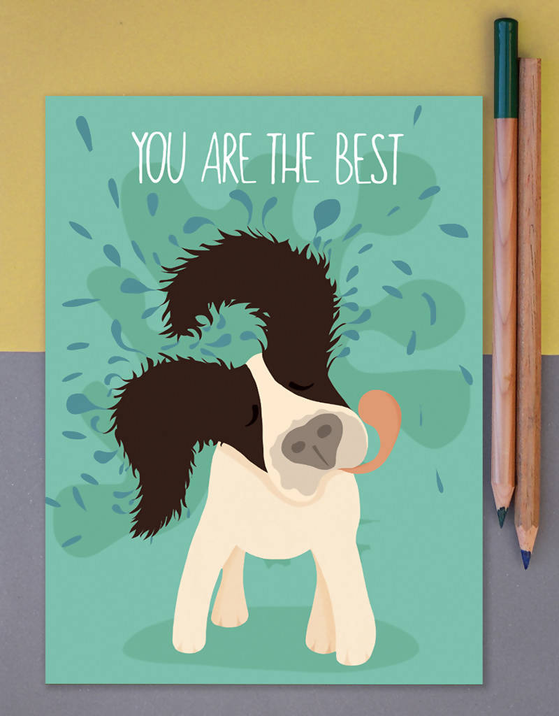 Greeting Card You Are The Best Dog Lover