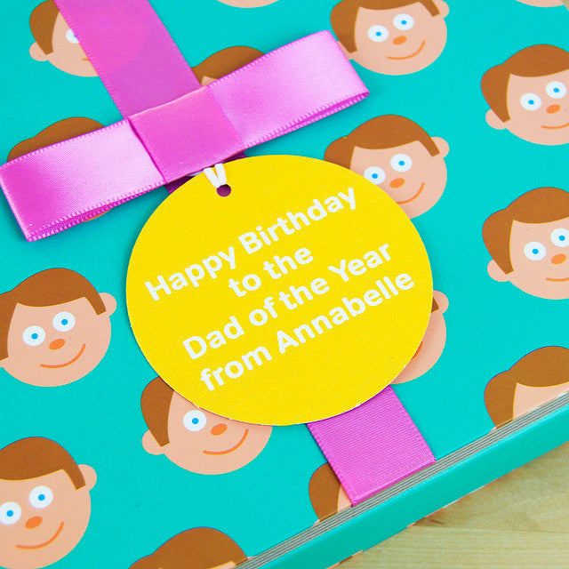 Dad Gift Book With Socks & Personalised Tag - FREE SHIPPING.