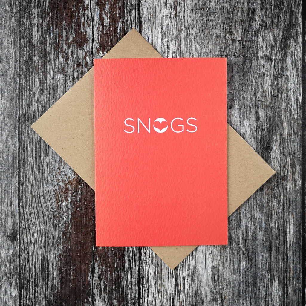 Snogs Card
