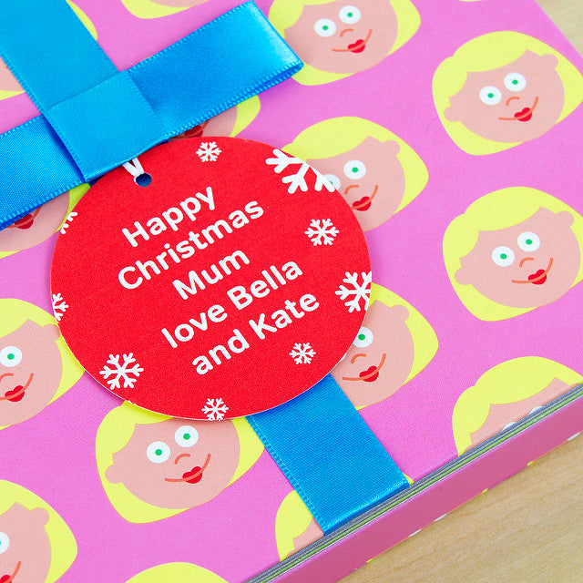 Mum Gift Book With Socks & Personalised Tag. FREE SHIPPING.