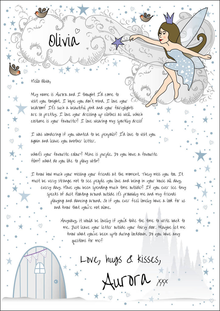 Personalised letter from a fairy
