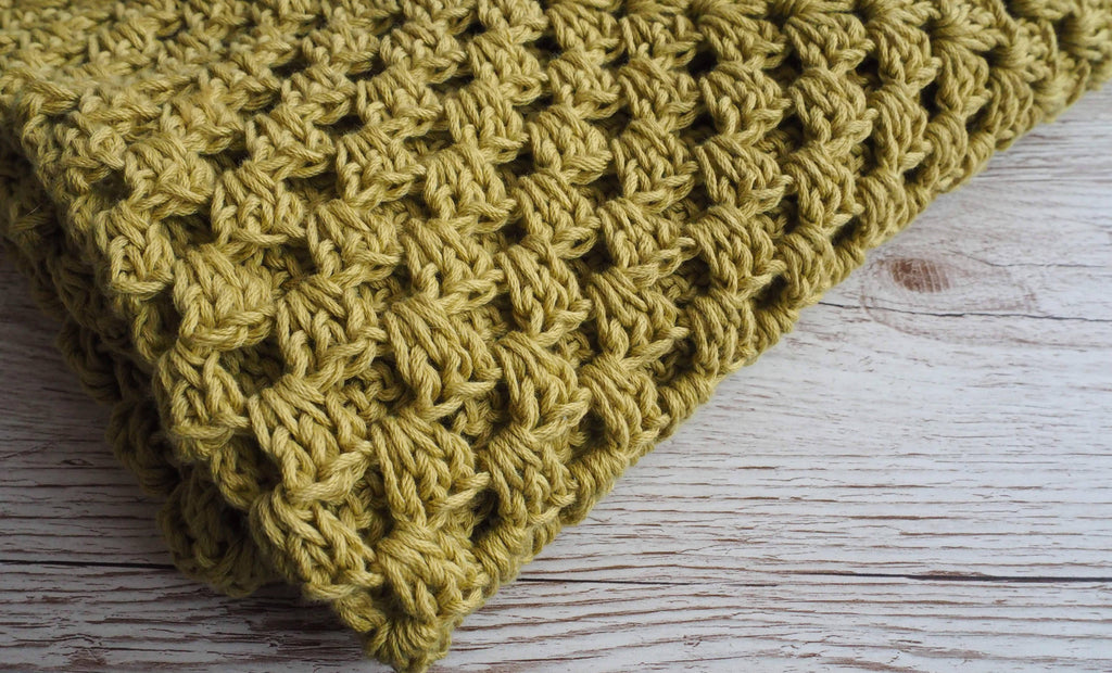 Apples & Pears Crochet Blanket