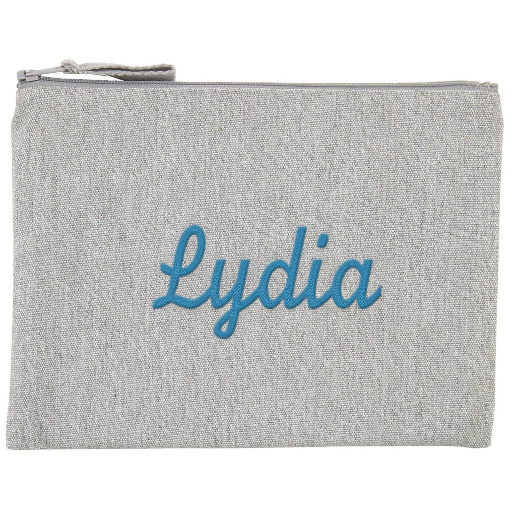 Personalised Premium Pencil Case - 300gsm - PETA-approved - Recycled Cotton and Polyester