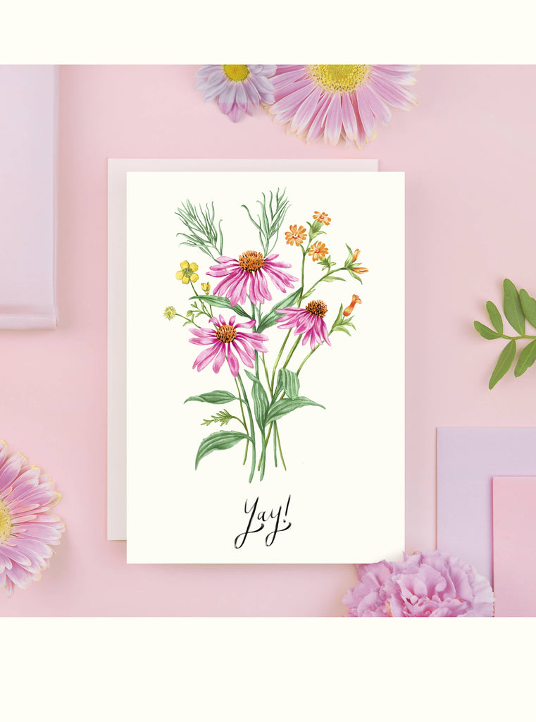 Yay Greeting Card - For All Celebrations