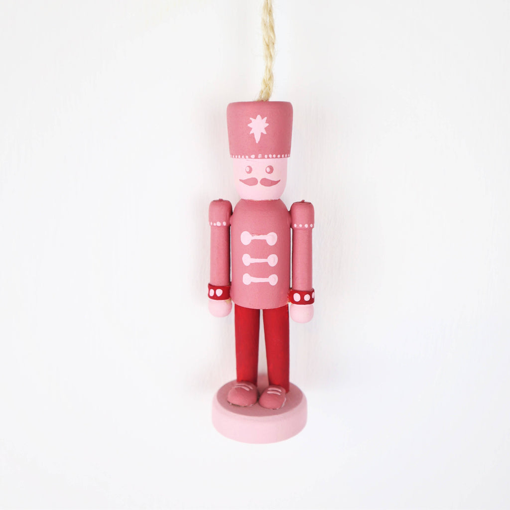 Handpainted Mini Nutcracker Christmas Decoration