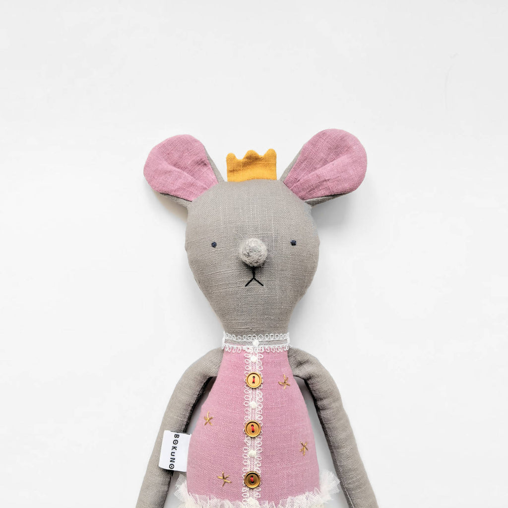 Sugar plum fairy ballerina mouse doll