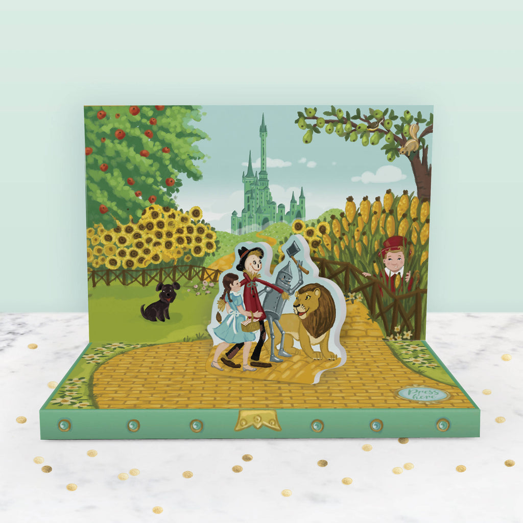 Adventures in Oz Music Box Card