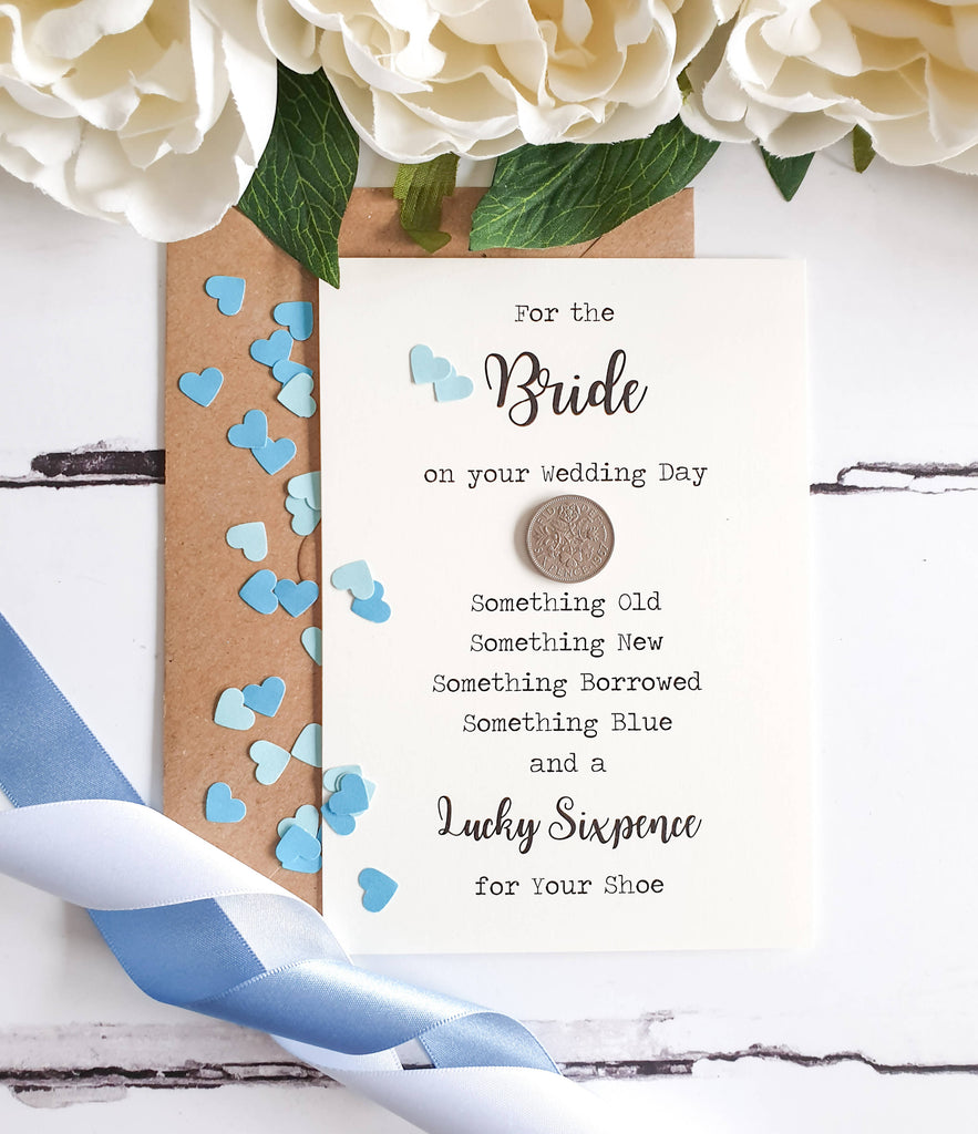 Lucky Sixpence Gift for Bride.