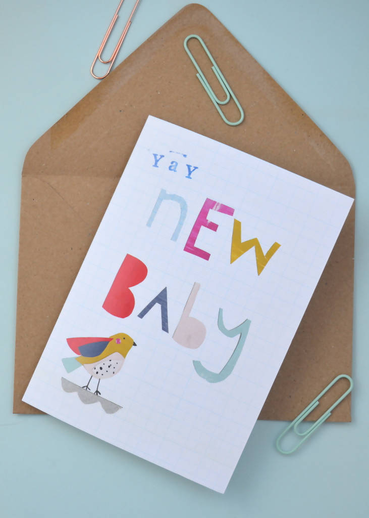 Dolly Pepper Studio, New Baby card
