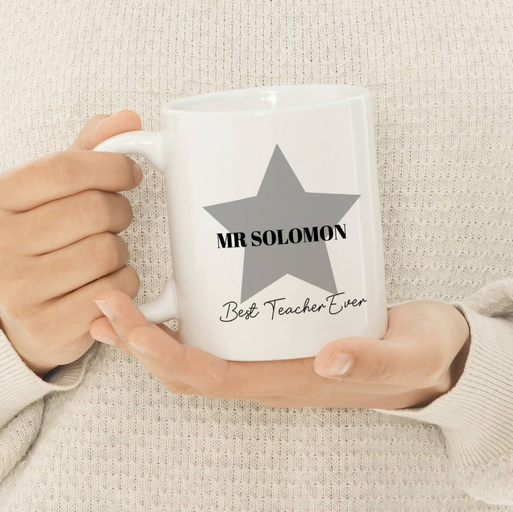 STAR TEACHER / TEACHING ASSISTANT MUG