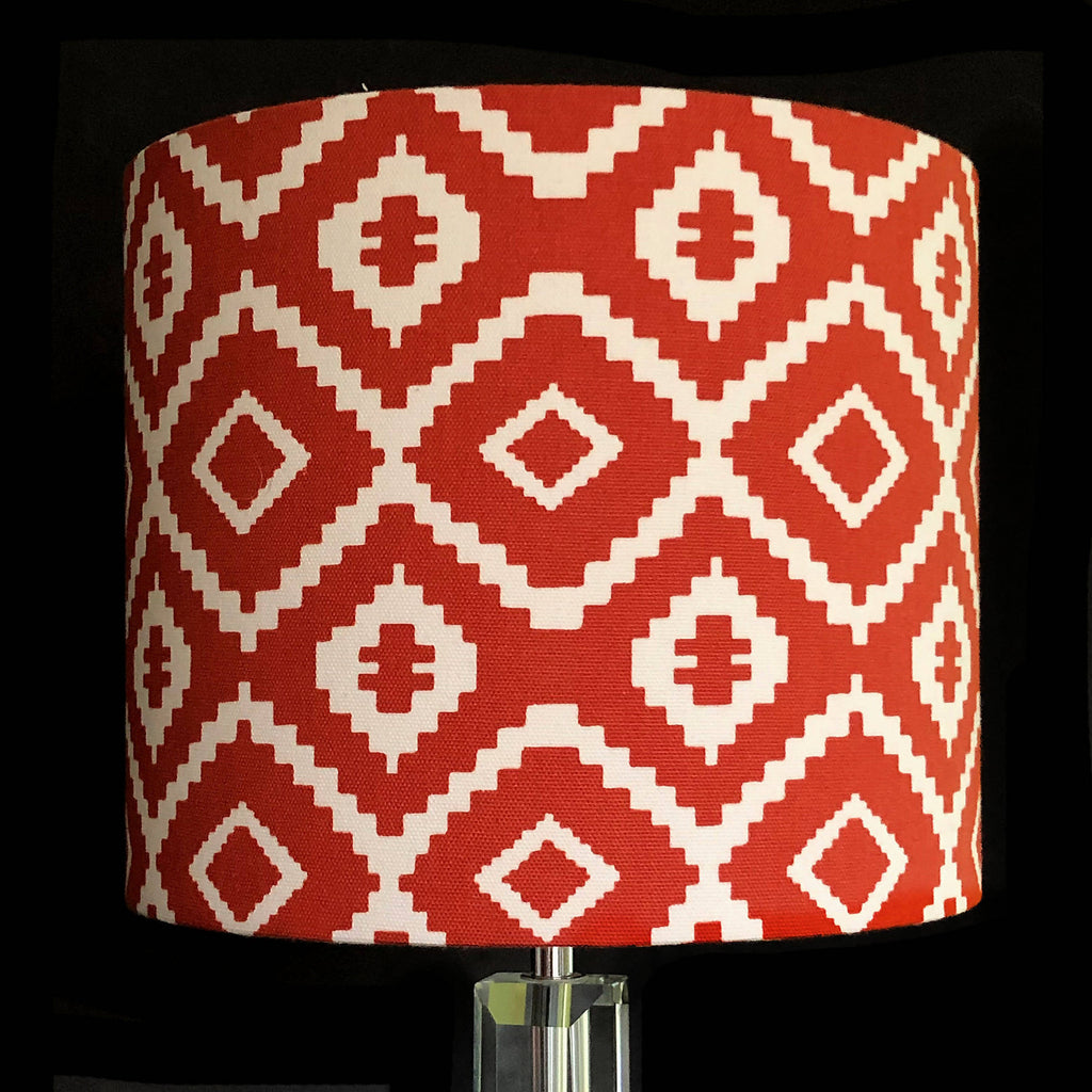 Dinosaur Fabric 25cm Drum Lampshade