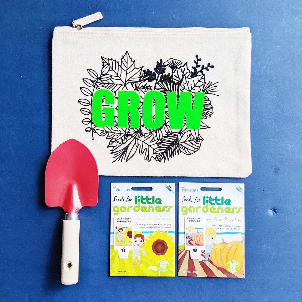 Little Gardeners Neon Green Grow Kit