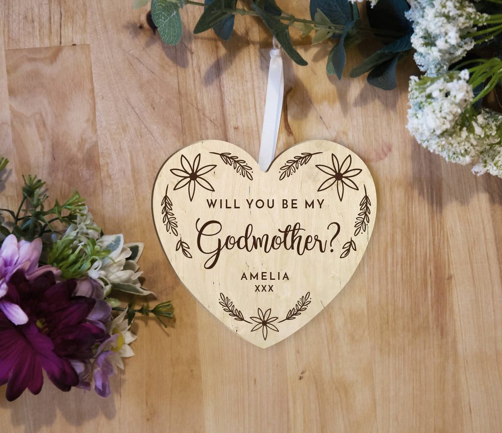 Godfather / Godmother personalised gift