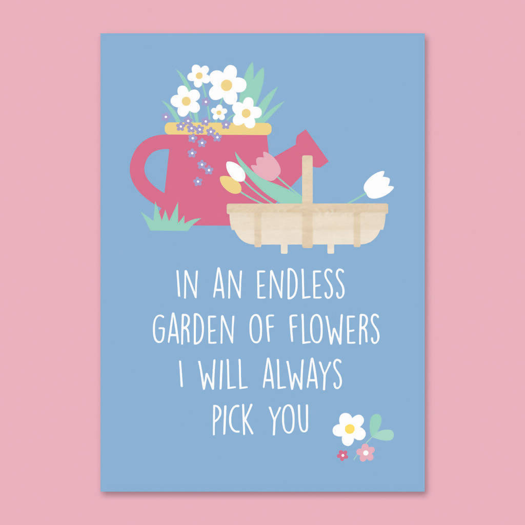 Garden 'Thinking of You' Letterbox Gift