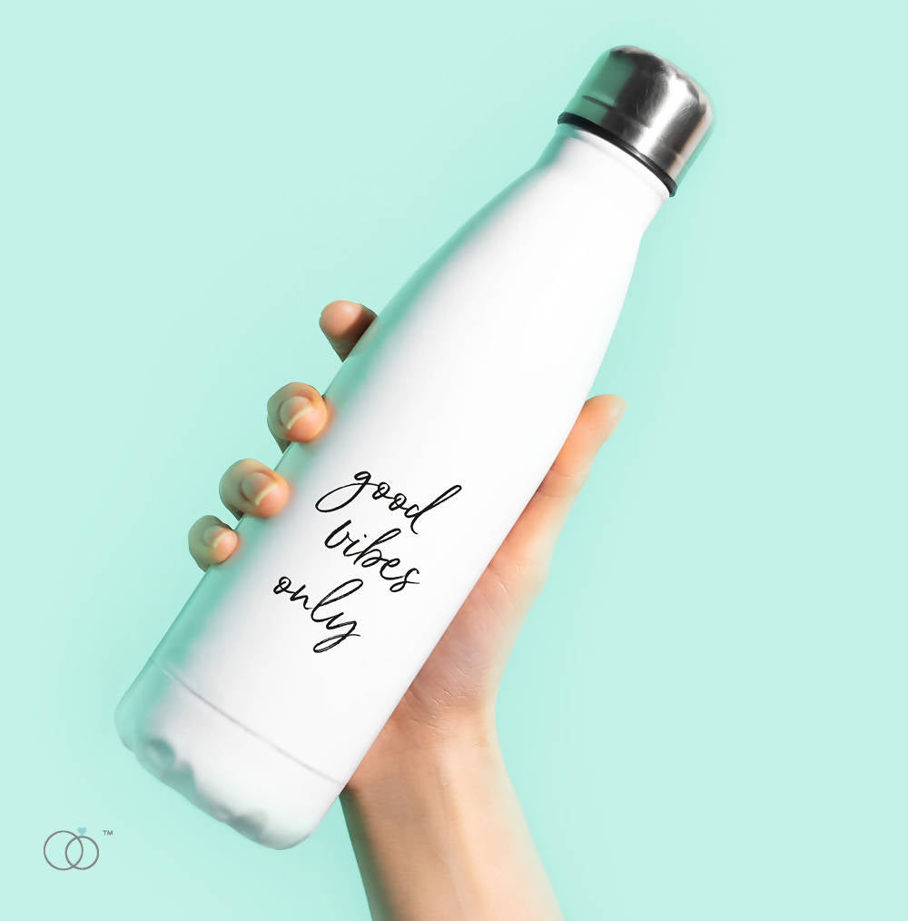 Good Vibes Only 500ml Water Bottle