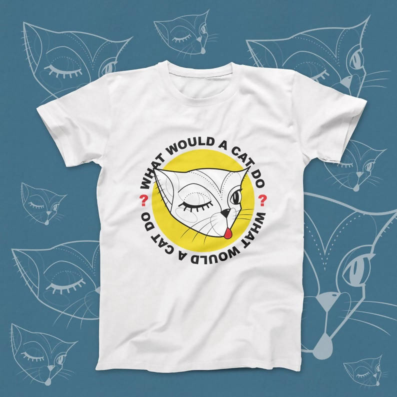 "Kids ""What Would a Cat Do?"" unisex t-shirt"