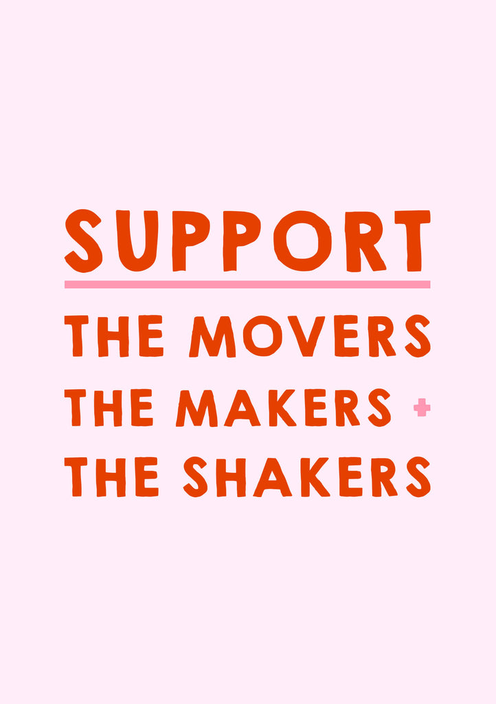 Support The Makers Printable