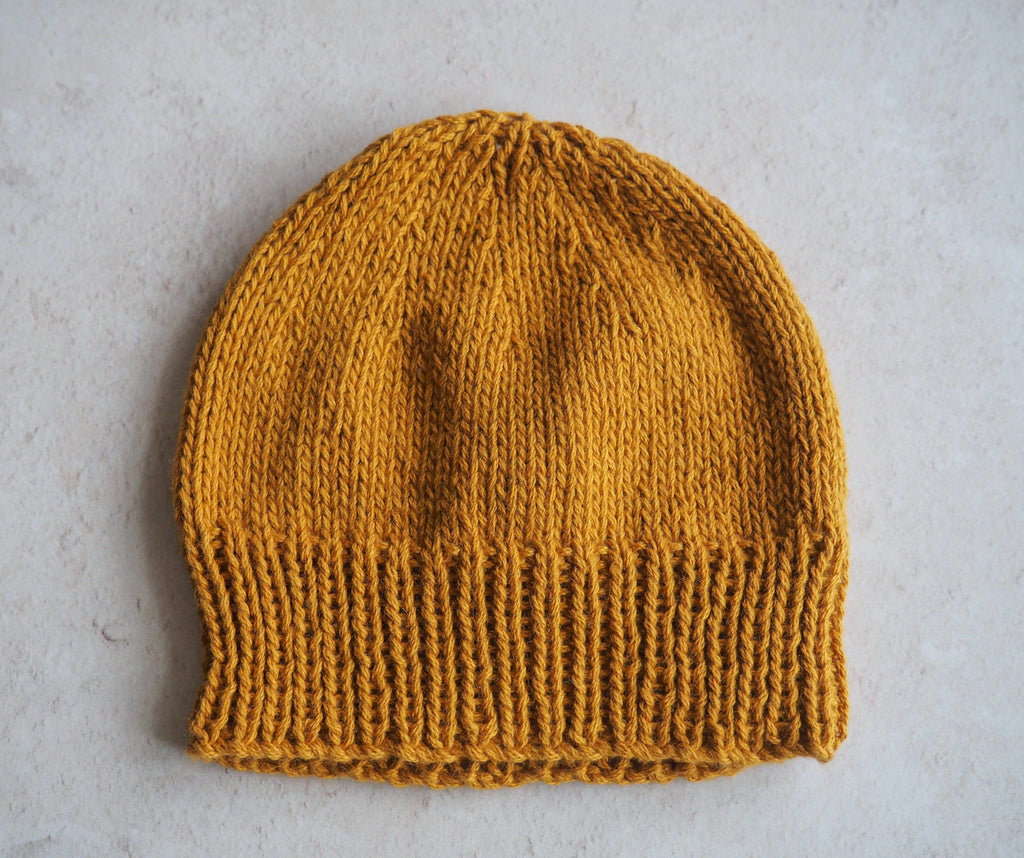Camber Beanie in Mustard