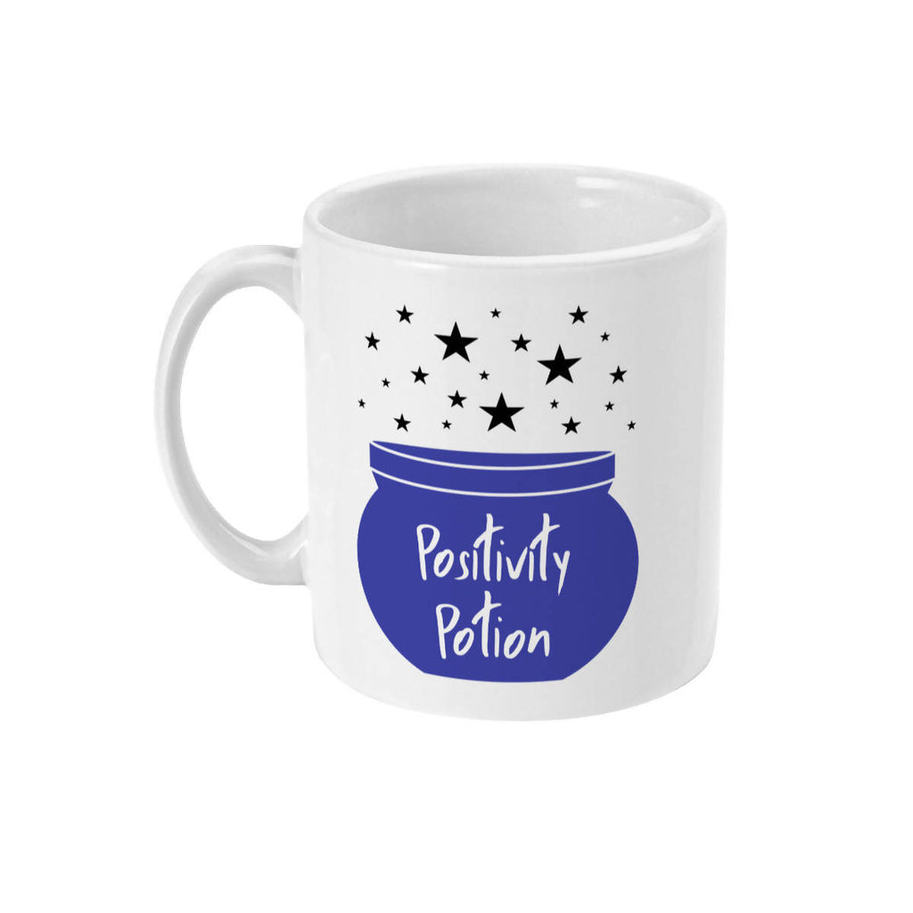 Positivity Potion Cauldron Mug