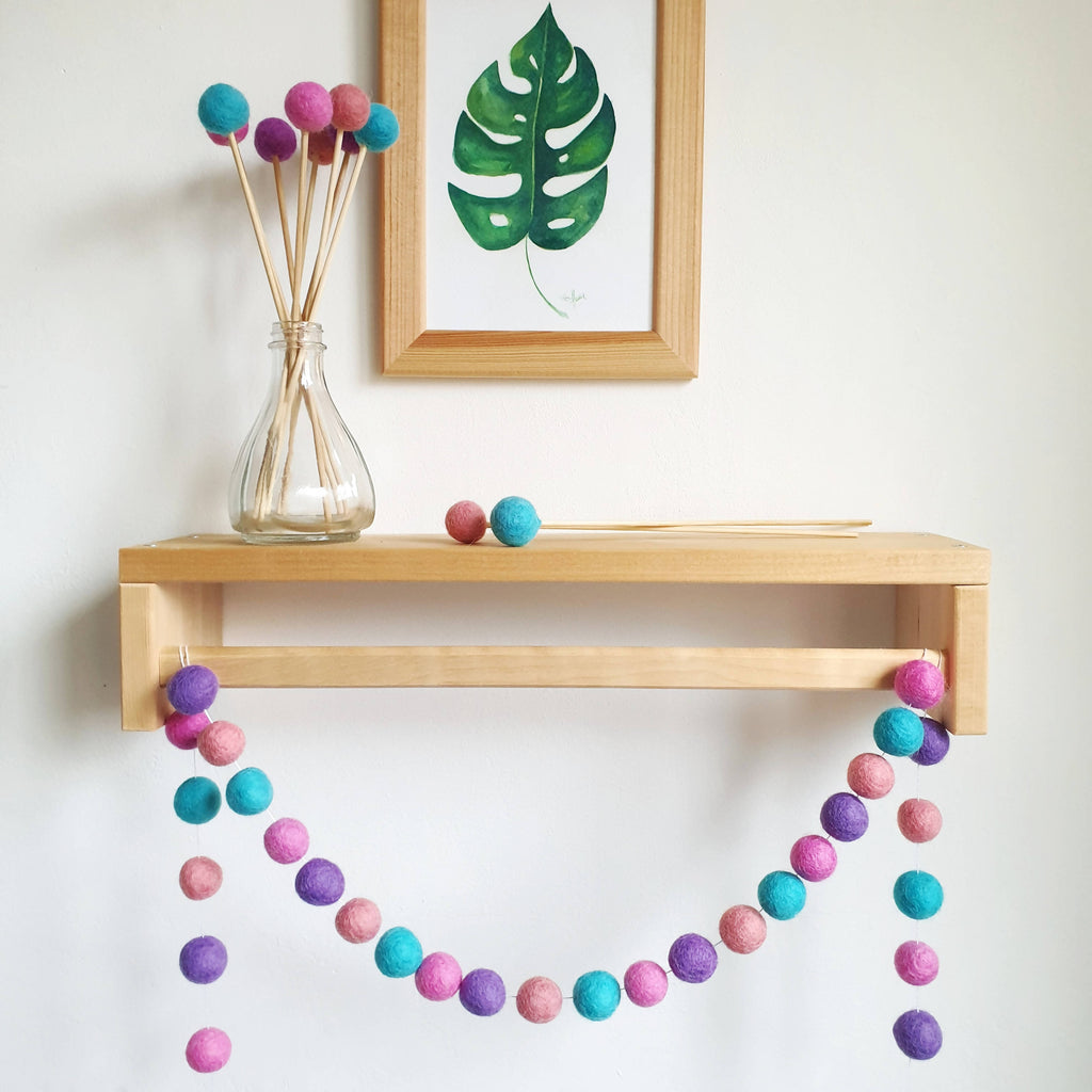Mermaid Pom Pom Garland