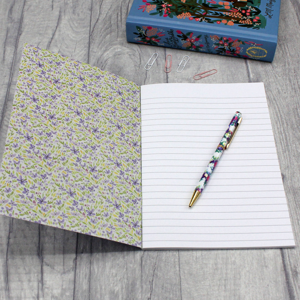 Classic Women of Literature A5 Notebooks - Eco-Friendly